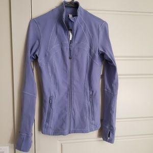 Lululemon Define Jacket size 6 Iron Purple